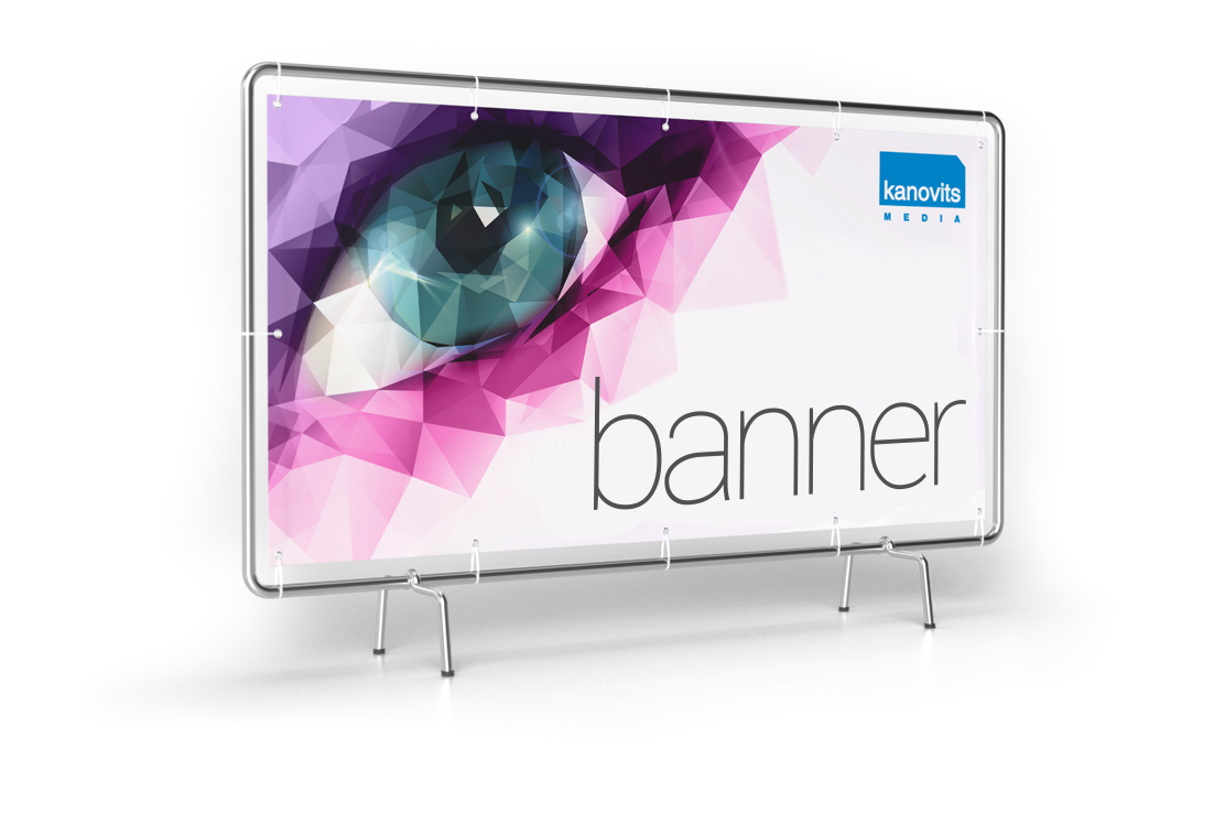 Kanovits media - services - pvc banner
